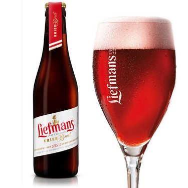 Liefmans Kriek Brut - Bière Belge cerise murie sur fruit - 6%