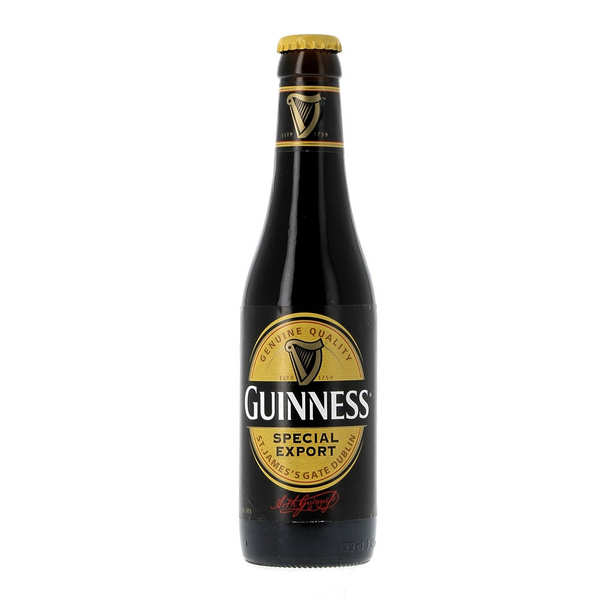 Guinness special export irish stout 8 brasserie for Guinness beer in ireland