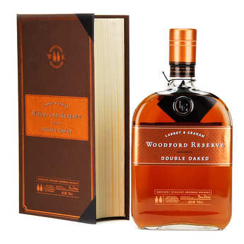 Woodford Distellery - Coffret livre whisky C.Morris edition Woodford Reserve Double oak