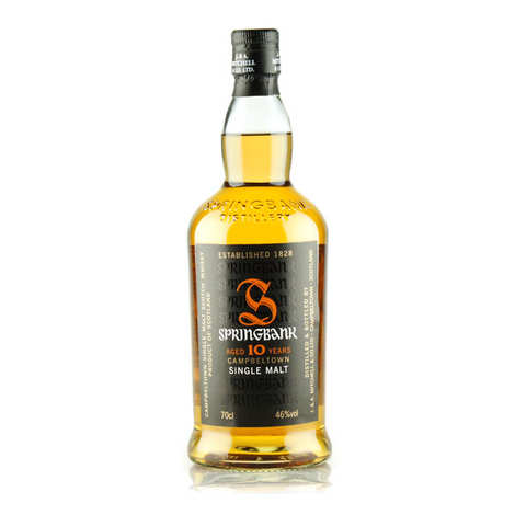 Springbank distilleries - Springbank Campbeltown Single Malt Whisky - 10 years old - 46%