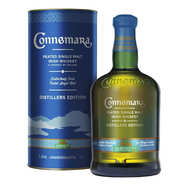 Cooley Distellery - Coffret Connemara Whisky Irlandais Single Malt 43%