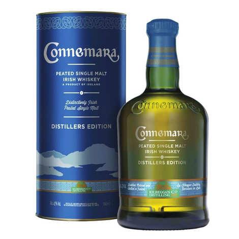 Cooley Distellery - Coffret Connemara Whisky Irlandais Single Malt 43%