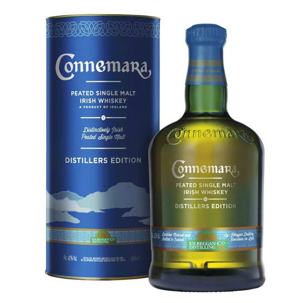 Coffret Connemara Whisky Irlandais Single Malt 43%