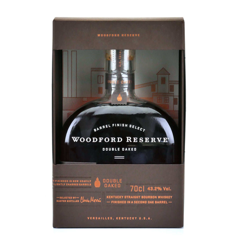 Whisky Woodford Reserve Double Oak - Bourbon du Kentucky - 43,2%