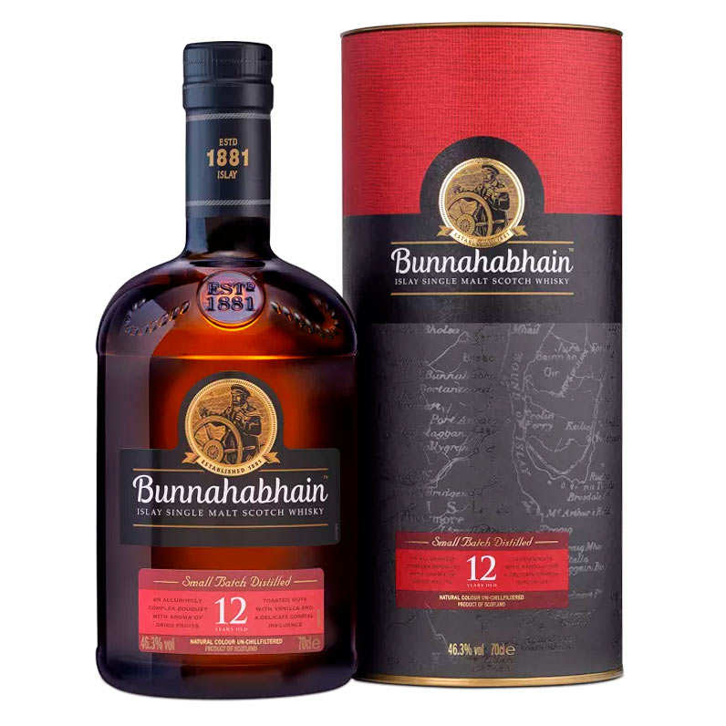 Bunnahabhain - Islay Single Malt Scotch Whisky - 12 ans - 43.2%