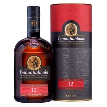 Bunnahabhain Distillery - Bunnahabhain - Islay Single Malt Scotch Whisky - 12 ans - 43.2%