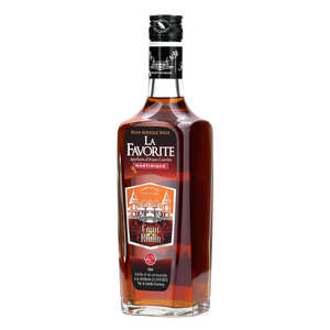 La Favorite - Coeur de Rhum La Favorite - Rum from Martinique - 40%