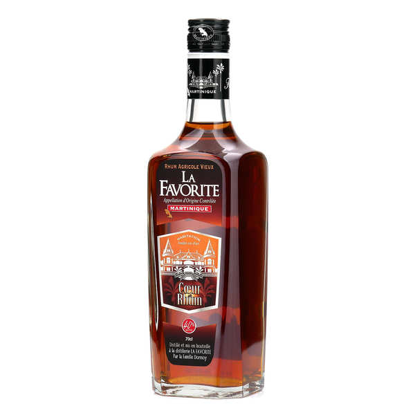 Coeur de Rhum La Favorite - Rum from Martinique - 40%