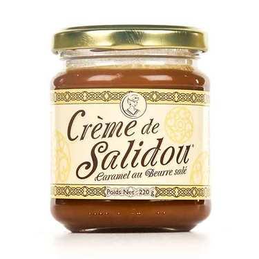 Salidou Salted Butter Caramel Sauce in a jar