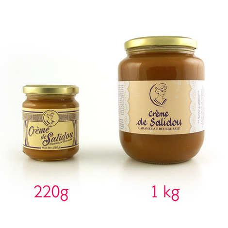 La Maison d'Armorine - Salidou Salted Butter Caramel Sauce in a jar