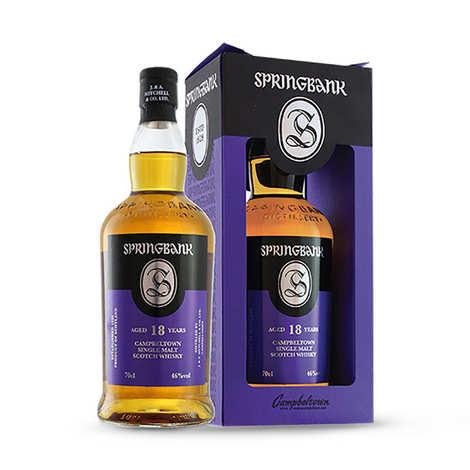 Springbank distilleries - Springbank Whisky - 18 ans d'âge - 46%