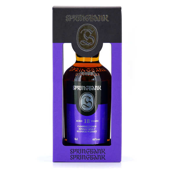 Springbank Whisky - 18 years old - 46%