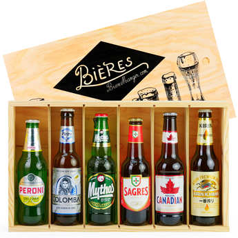 BienManger paniers garnis - Beers of the World Gift Set