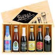 BienManger paniers garnis - Coffret cadeau de 6 bières belges d'exception