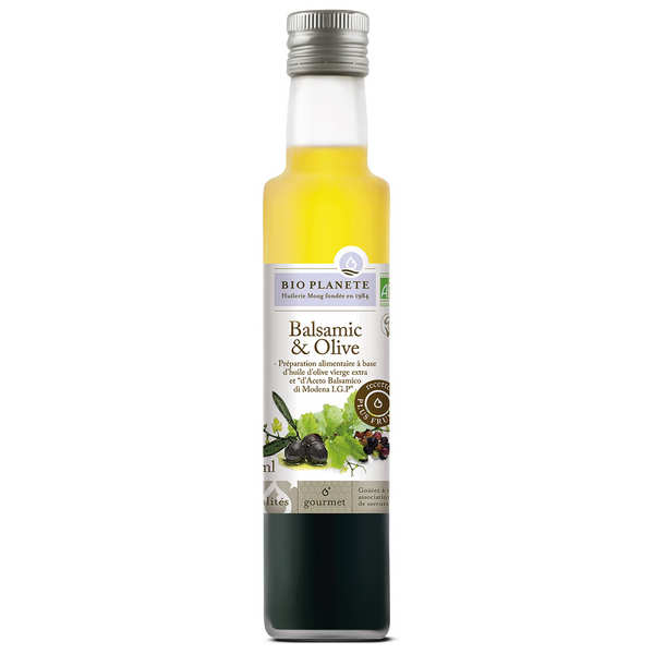 Organic Balsamic and Olive Oil Mixture