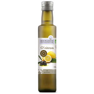 BioPlanète - Organic O'Citron - Olive Oil and Lemon Mixture