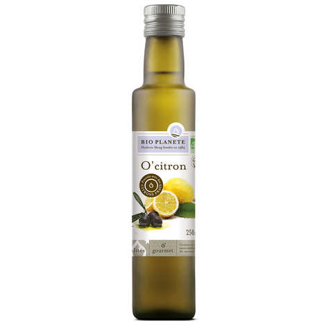BioPlanète - Organic O'Citron - Olive Oil and Lemon Mixture
