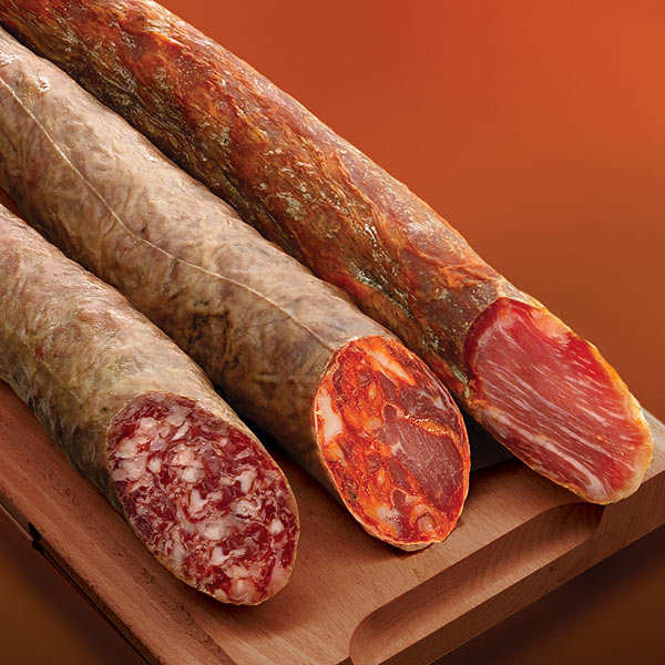 Iberian Charcuterie Selection - 3 sausages