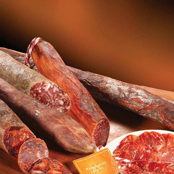 Iberian Jabugo Charcuterie Selection - 4 sausages