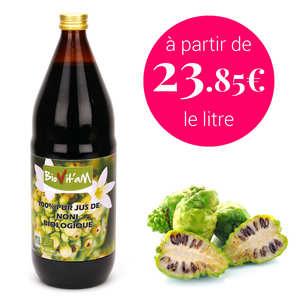 - Pure organic Noni juice