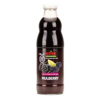 Elite Naturel - Pur jus de mulberry noire bio