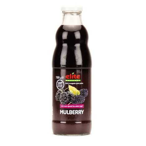 Elite Naturel - Pur jus de mulberry noire bio