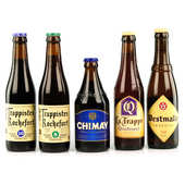 The Trappist beers gift basket