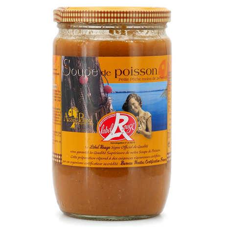 """Azaïs-Polito - Soupe de poissons frais """"petite pêche"""" - label rouge"""