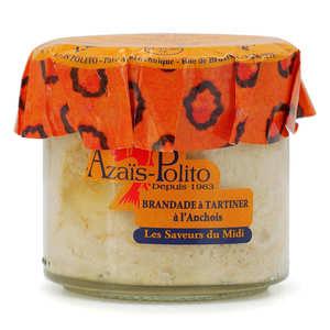 Azaïs-Polito - Brandade de morue aux anchois apéritif à tartiner