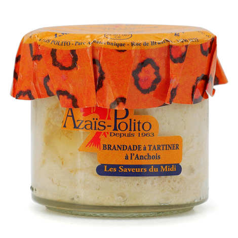 Azaïs-Polito - Brandade de morue aux anchois - apéritif à tartiner