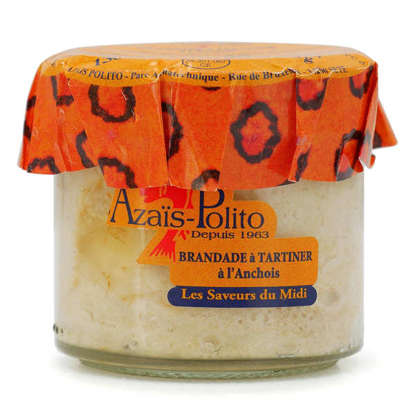 brandade de morue aux anchois ap ritif tartiner aza s polito. Black Bedroom Furniture Sets. Home Design Ideas