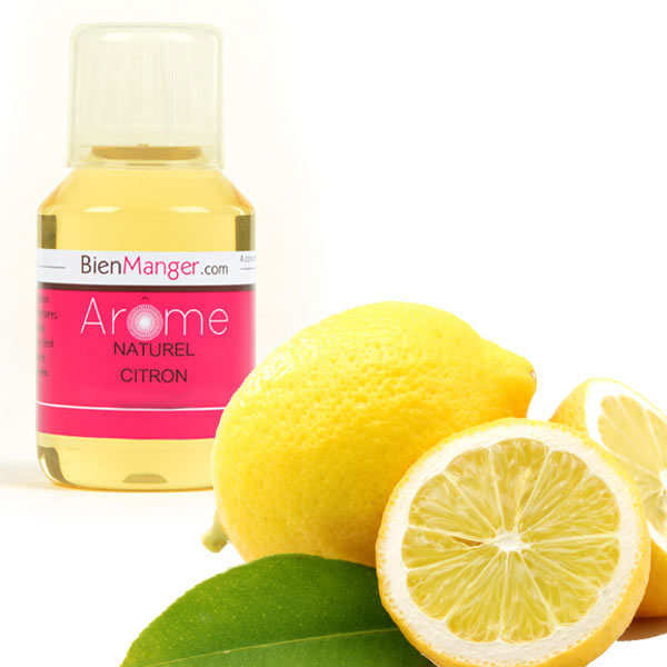 Arôme alimentaire de citron