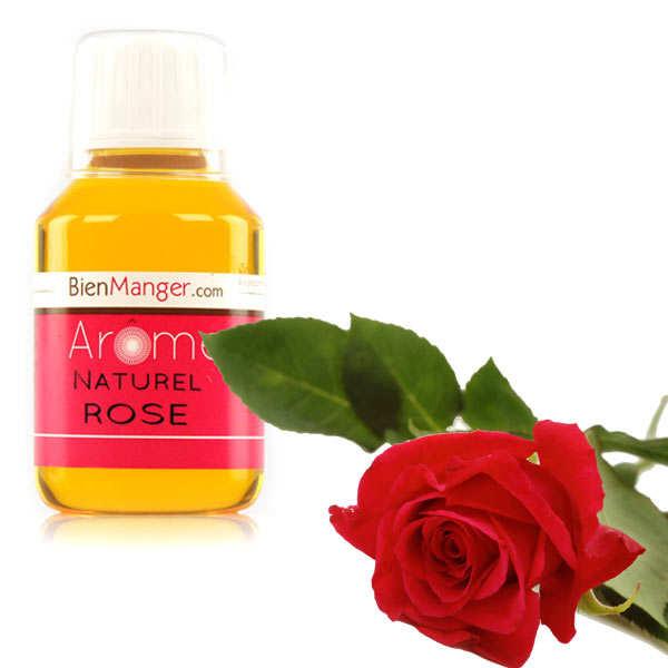 Arôme alimentaire de rose