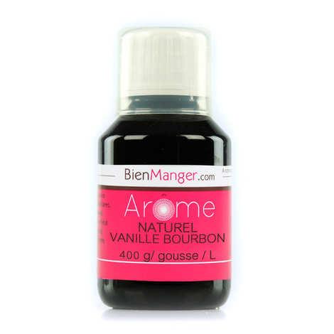 BienManger aromes&colorants - Arôme naturel de Vanille Bourbon 400g/L (extrait de vanille)
