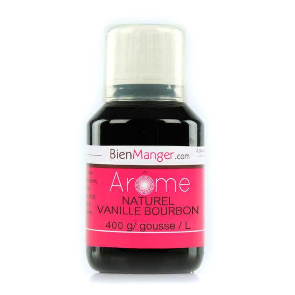 Arôme naturel de Vanille Bourbon 400g/L (extrait de vanille)