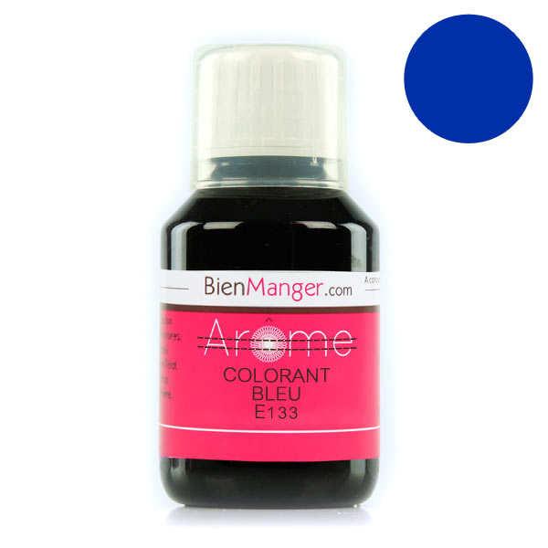 Colorant alimentaire bleu E133 - Liquide
