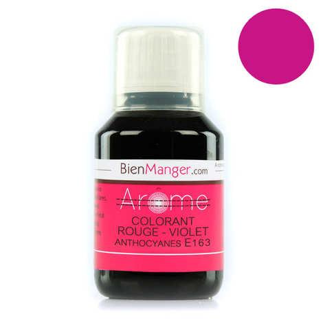BienManger aromes&colorants - Colorant alimentaire naturel rouge-violet E163