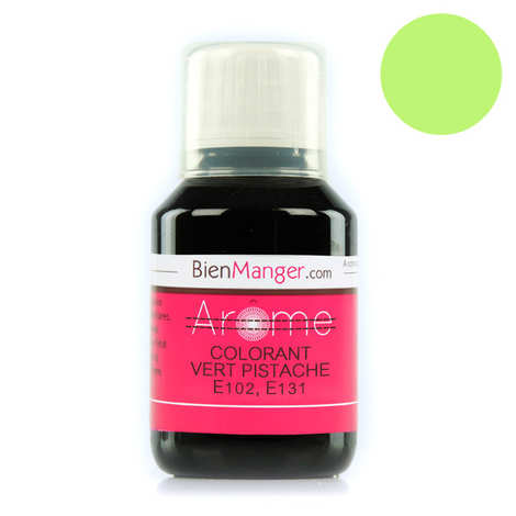 BienManger aromes&colorants - pistachio-green food colouring E102, 131