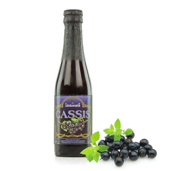 Lindemans Cassis - bière belge - 3,5%