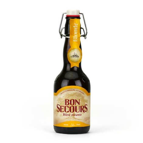 Brasserie Caulier - Bon Secours Blonde Belgian Beer - 8%