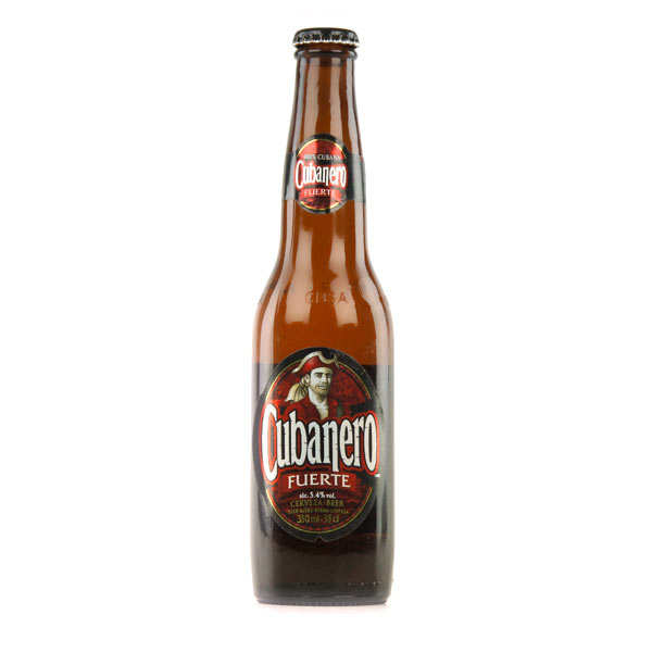 Cubanero Fuerte - Bière Blonde Cubaine - 5,4%