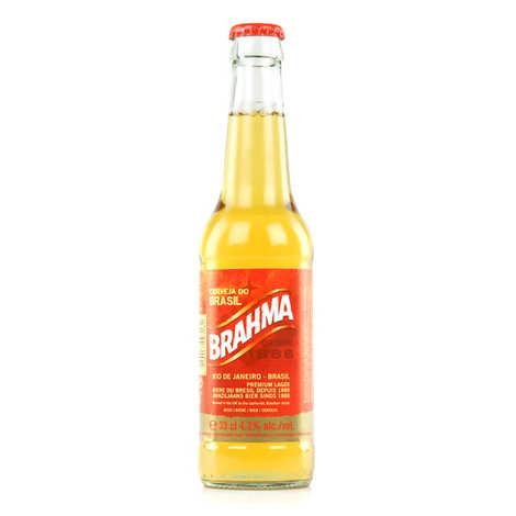 Brasserie InBev - Brahma Beer - Bière Blonde Brésilenne