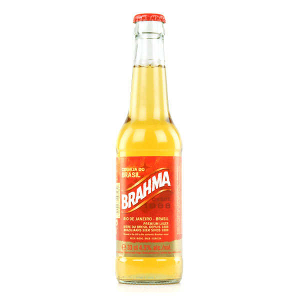 Brahma Beer - Blond Beer of Brazil