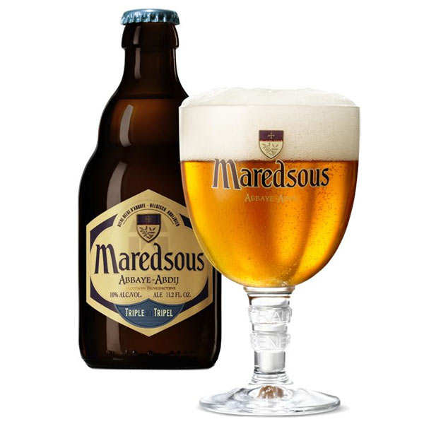 Maredsous Tripel - Abbey Beer from Belgium - 10%