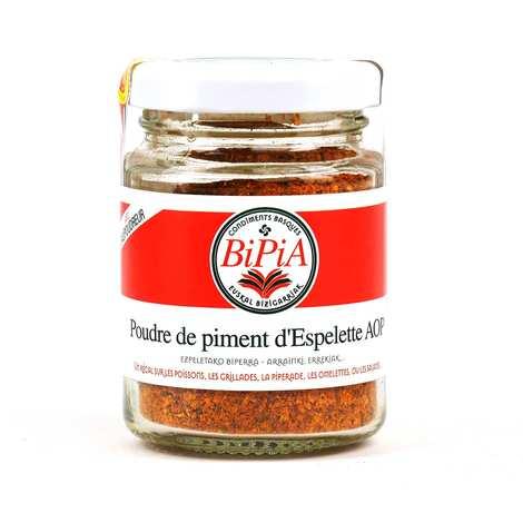 BiPiA - Piment d'Espelette AOP en poudre (suhara)