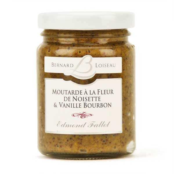 Moutarde à la fleur de noisette et vanille Bourbon - Bernard Loiseau