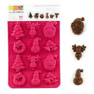 ScrapCooking ® - Moule en silicone - Chocolats de Noël