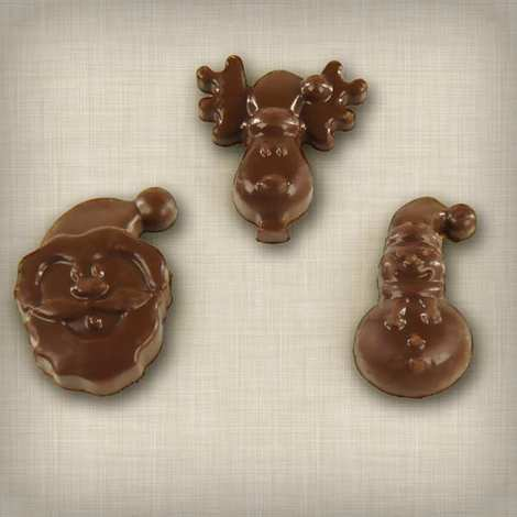 ScrapCooking ® - Silicone Christmas chocolate mould