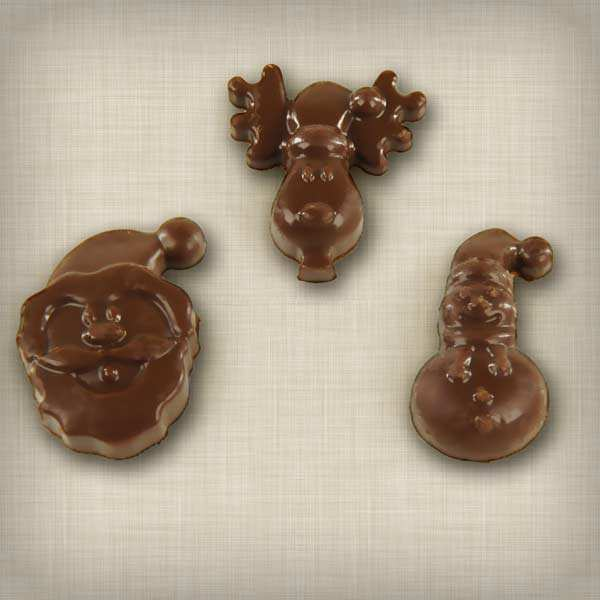 Silicone Christmas chocolate mould