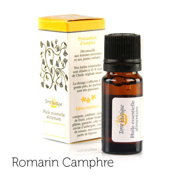 Organic Essential Rosemary & Camphor Oil